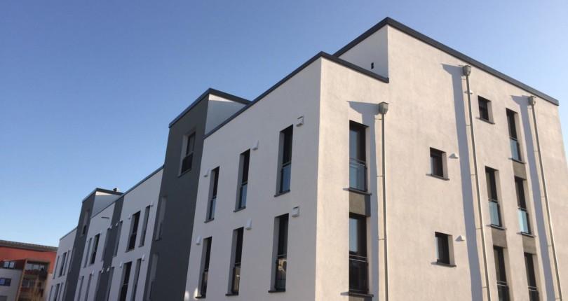 Hennef-Zentrum, Modernes Mehrfamilienhaus mit 10 hellen Mietwohnungen  – Brahmsstrasse 26